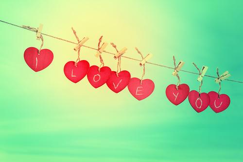 I Love You Liefde Met Passie